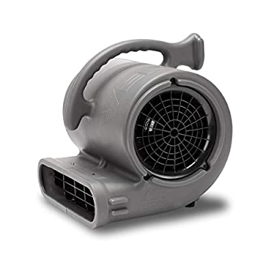B-AIR Vent 1/2HP Air Mover Stackable Carpet drying Blower Fan