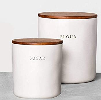 Hearth & Hand with Magnolia - Kitchen Canister Collection  BUNDLE  Sugar  Flour