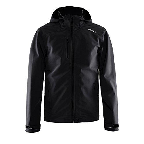 Craft Herren Softshell Jacke (XL) (Schwarz)