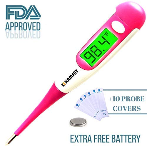 Best Digital Medical Thermometer Baby Kids and Adult, Accurate and Fast Readings in 10 Seconds