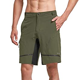 BALEAF Men's Hiking Shorts Lightweight Quick...