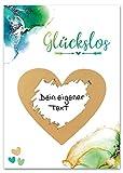 JoliCoon - Rubbellose selber machen - Deine personalisierte Geschenke Überraschung - Rubbelose zum Selber Beschriften - Gutschein-Rubbelkarten
