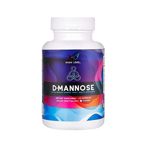 High Level D-Mannose - Ultra Premium Urinary Tract UT Cleanse and Bladder Health with Cranberry Juice, Hibiscus Flower and Dandelion Root Extract - Detoxify, Clear Impurities, Purify and Flush System