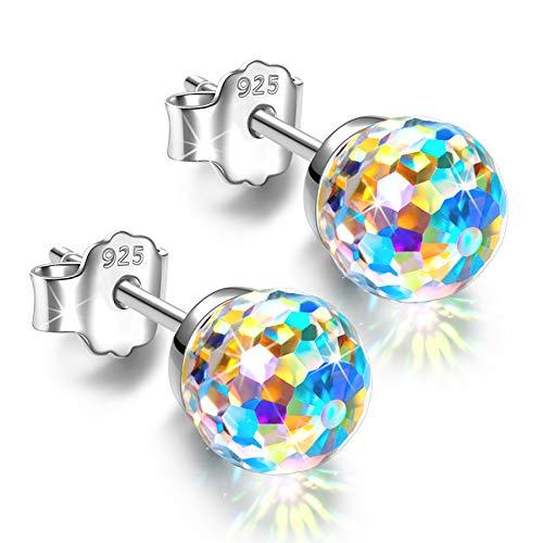 Alex Perry Geschenke für Frauen Ihre Mutter Sterling Silber Ohrringe für Mädchen Freunde Ohrstecker Geschenke für Mutter Personalisierte Mütter Valentinstag Geschenke Schmuck Geburtstagsgeschenke