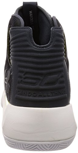 Under Armour Men's Curry 3 Basketball Shoe (11.5, Anthracite/White/Constellation Purple)