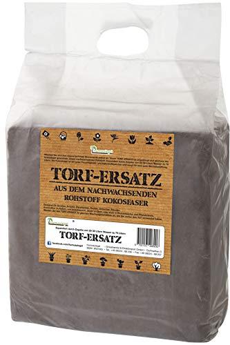 Humusziegel - 70 L torffreie gepresste Blumenerde - Kokosblumenerde - ohne Torf