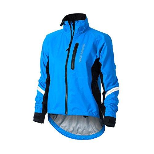 Showers Pass Waterproof Breathable Women's Elite 2.1 Cycling Jacket (Blue - XXL)