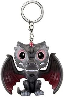 Key Chains - Game of Thrones Keychains Q Version Doll Drogon Jon Snow Car Key Chain Pendant Pop Key Protector SP1640 - by YPT - 1 PCs