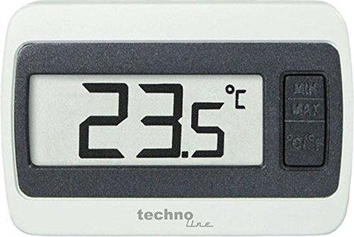 Technoline WS 7002, Bianco-Grigio, 6x1.4x4 cm
