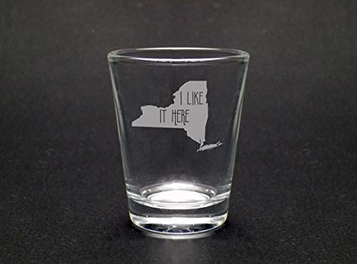 New York I Like It Here Shot Glass