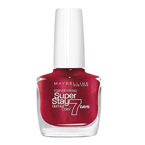 Maybelline New York Superstay 7 Days - Smalto Effetto Gel Volcanic Red 09