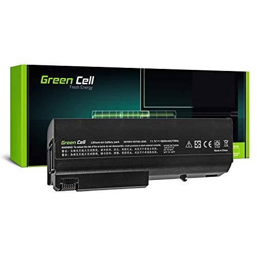 Green Cell Extended Serie Laptop Akku für HP Compaq 6710b 6710s 6715b 6715s 6910p nc6120 nc6220 nc6320 nc6400 nx6110 nx6310 (9 Zellen 6600mAh 11.1V Schwarz)