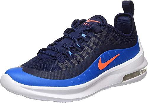 Nike Boys AIR MAX AXIS (GS) Running Shoe, Midnight Navy/Hyper Crimson-Laser Blue, 36.5 EU