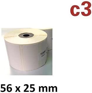 76x25 mm Thermo-Etiketten Epson TM-L90 Zebra Samsung