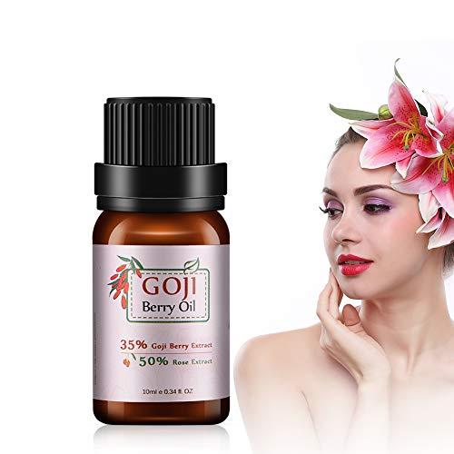Aceite Facial, Aceite Esencial De Bayas De Goji, 10 Crema El Aceite Esencial Reduce Las Arrugas Finas, Aceite Antiarrugas Facial Para Sueros Y Líquidos Y Suaviza La Piel