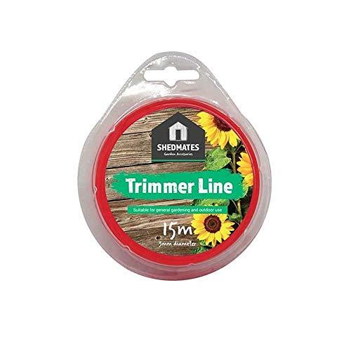 AOBETAK Strimmer Line 1.6mm x 100M String Trimmer Line Grass Weed ...