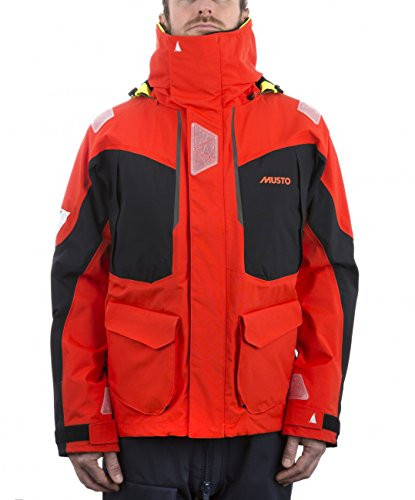 Musto BR2 Offshore Jacket 2017 - Fire Orange/Black XL