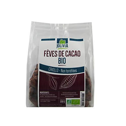 Fèves de Cacao crues Bio non torréfiées - 200 g