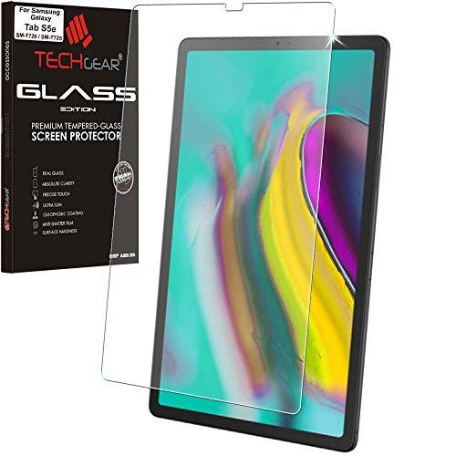 TECHGEAR mat kogelvrij glas compatibel met Samsung Galaxy Tab S5e 10,5 (SM-T720 serie) - mat bescherming tegen verblinding pantserglas oplegger, originele gehard glazen displaybeschermfolie