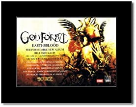 Music Ad World GOD Forbid - Earthsblood Mini Poster - 21x13.5cm