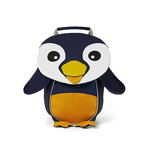Affenzahn Kleiner Freund - Kindergartenrucksack für 1-3 Jährige Kinder im Kindergarten und Kinderrucksack für die Kita - Pinguin - Blau