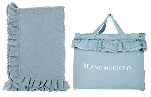 Blanc Mariclo Colcha individual boutis con Gala de papel de azúcar A2858100CZ