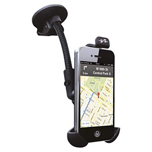 Sumex CARHLD1 Soporte Universal Adaptable Pulse Mobile Pro para Smartphones y Teléfonos Móviles con Ventosa