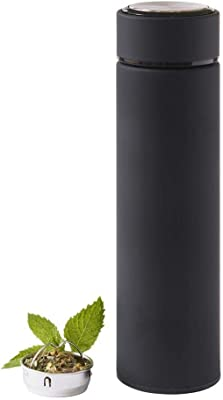 Double Wall Insulated Stainless Steel thermos (Black)