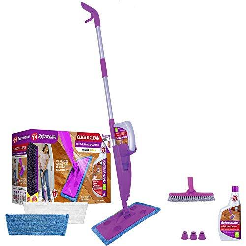 As Seen On TV RJCLICKMOP1 Rejuvenate Click N Clean Mop Kit