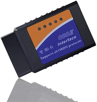 YQ ELM327 WiFi Wireless ELM327 OBD2 OBDII Auto Diagnostic Scanner Tool Adapter for Smartphone product image