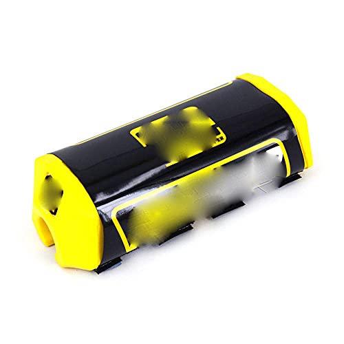 Fast Pro - Almohadilla para el manillar compatible con la mayoría de motocicletas EXC, EXCF, SX, SXF, SXS, MXC, MX, XC, XCW, XCF, XCFW, EGS, LC4, Enduro, CBR, CR, YZF, R1, 200 x 75 mm, color negro
