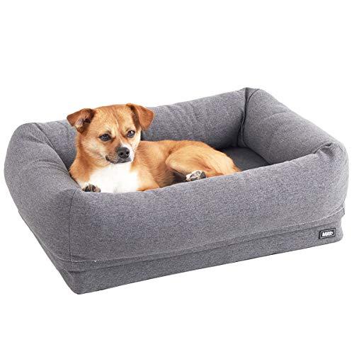 Barkbox 2-in-1 Memory Foam Bolster Bed