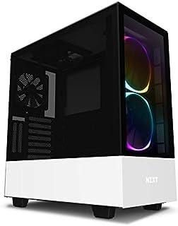 NZXT H510 Elite Mid Tower PC Gaming Gehäuse mit Sichtfenster, Weiß
