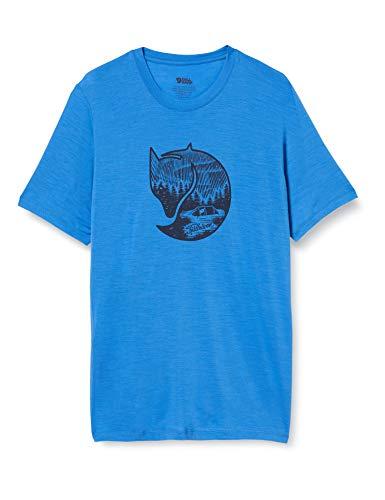 Fjallraven 87005 Abisko Wool Fox SS M T-Shirt Mens Un Blue XL
