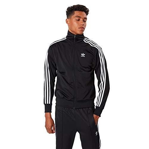 adidas Men's Core 18 Presentation Jacket (Small, Black - White - Black)