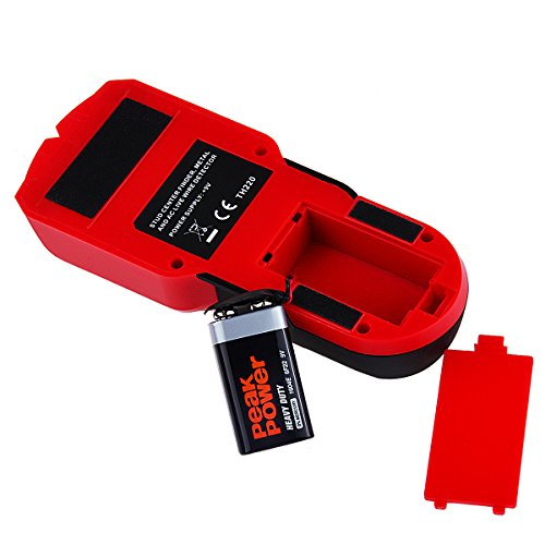 Detector de Multifunción con Pantalla LCD Detector de cables eléctricos, objetos metálicos, tuberías ocultas , madera Detector De Pared FOLAI