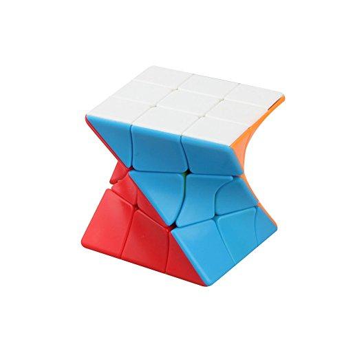 Cube Magique 3X3 Coloré Éducatifs Torsion Magique Puzzle Cube Twist Puzzle Vitesse Cube Adulte Enfants d'apprentissage Jouet Cadeau