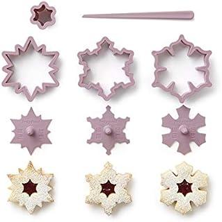 Betty Bossi Cookie Cutter Snowflake - Coupe-biscuits pour voleurs en forme de flocons de neige - Coupe-biscuits de haute q...