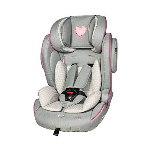 Osann Flux Kindersitz by Sarah Harrison - Kinder-Autositz mit Seitenaufprall-Schutz, höhenverstellbarem 5-Punkt-Gurt & verstellbarer Kopfstütze