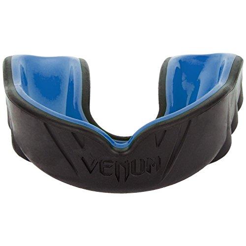 Venum Unisex Senior 11+ Jahre Challenger Mundschutz, Einheitsgröße,Schwarz/Blau