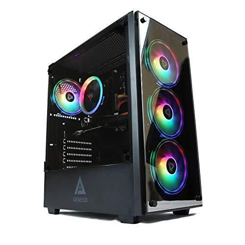 Gaming PC Desktop Computer Genesis Design i5 2500 3.30ghz, 8GB DDR3 Ram, Geforce GTX 750 2GB Graphic, 500GB SSD Drive, 550w Power, WiFi Ready