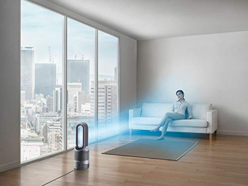 Dyson Pure Hot+Cool Purificateur d'air/Chauffage/Ventilateur de table argent