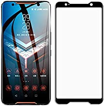 for Asus ROG Phone II Full Coverage Screen Protector Tempered Glass - [2pack] Ultra Thin HD Screen Protective Film for Asu...