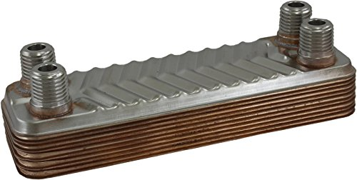 Duda Energy HX0510: F025 B3-5A 10 Plate Heat Exchanger 1/4