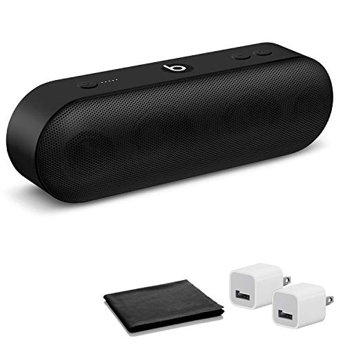 Beats by Dr. Dre Beats Pill+ Speaker (Black) with USB Adapter Cubes