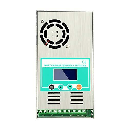 Y&H Regulador de carga solar MPPT 60A 48V 36V 24V 12V Auto Max 190VDC Regulador solar de...