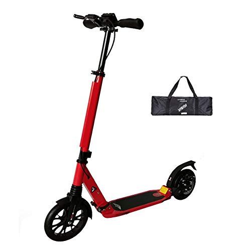 Patinetes clásicos Scooter para Adultos Plegable Ajustable con Manillar, Scooter no eléctrico...