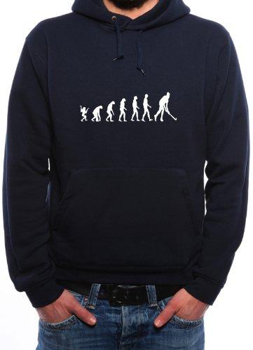 Mister Merchandise Hoodie Kapuzenpullover Evolution Hockey Fieldhockey Feldhockey, Größe: S, Farbe: Navy