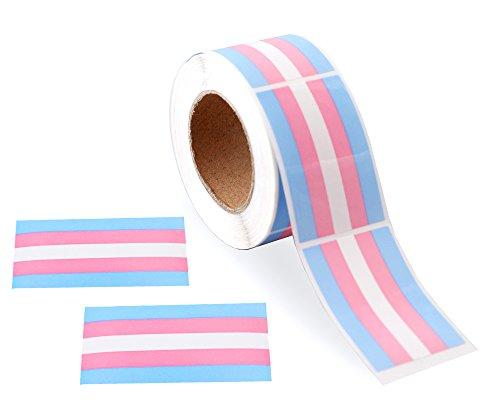 Trans Pride Sticker Role