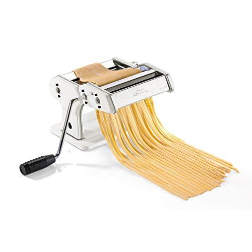 Gefu Pastamaschine Pasta Perfetta weiß Nudelmaschine mit Standardvorsatz